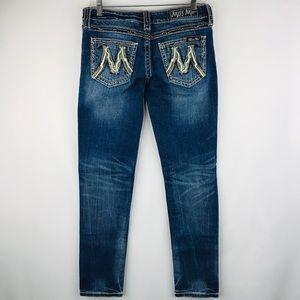 Miss Me denim skinny jeans SZ 28
